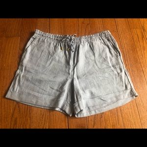 NWT Ellen Tracy linen feel shorts